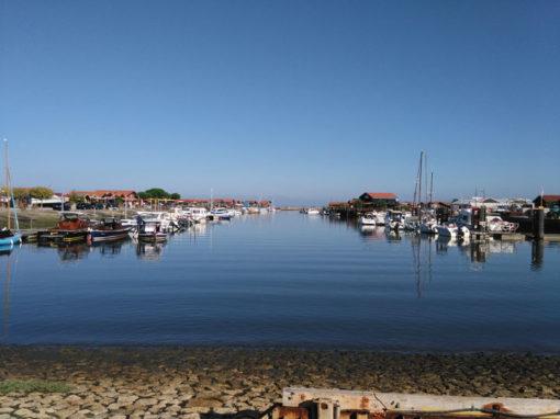 Le port de Larros à Gujan-Mestras